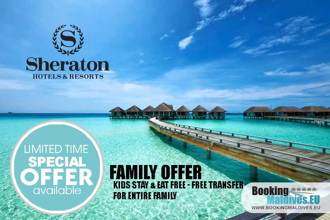 Sheraton kids stay & eat FREE – family offer, FREE transfer